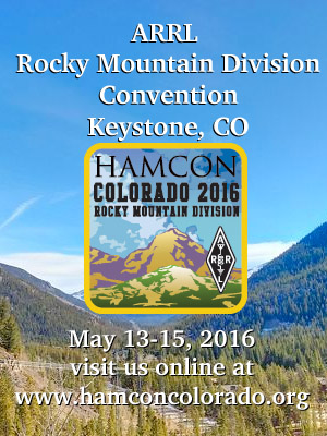 HAMCON Colorado 2016
