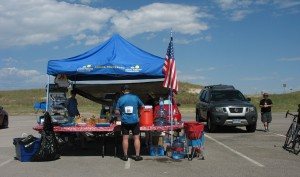 Aid Station - Cycle for Life 2017